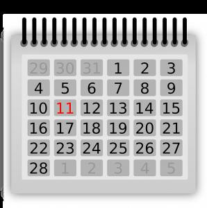 calendar 1387657636 298x300 - February 14, 2019